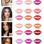انتخاب رنگ رژلب مناسب برای پوست صورتان