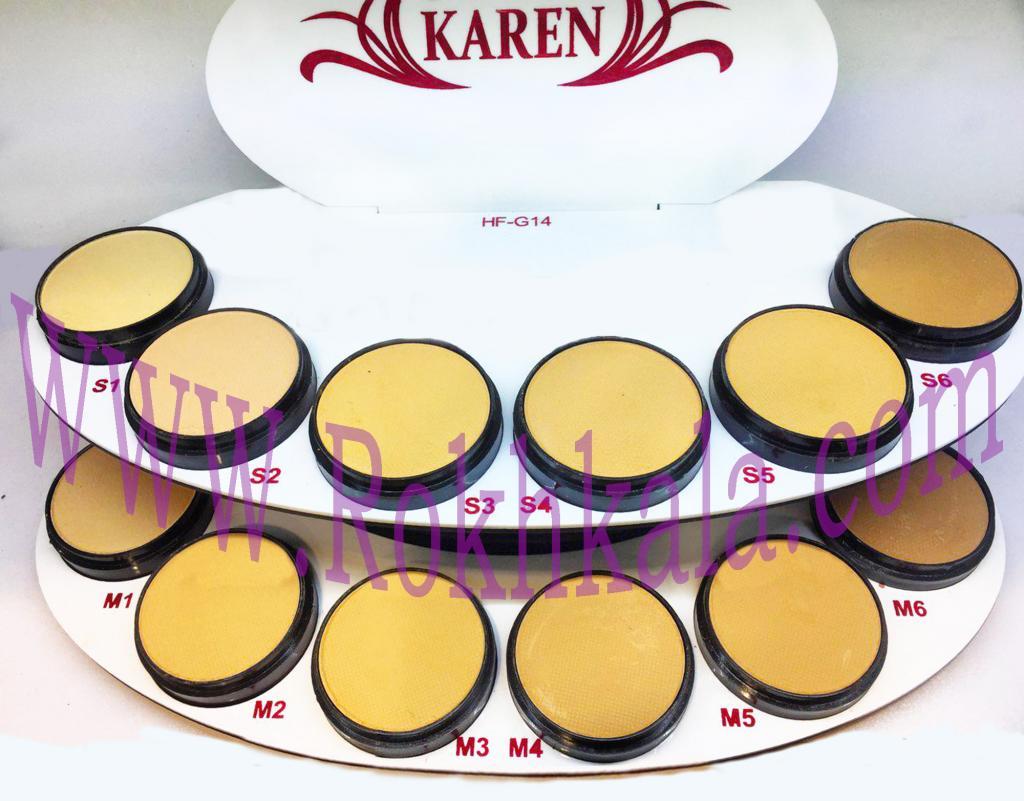 پنکک کارن KAREN شماره 3 S مدل SHAIN