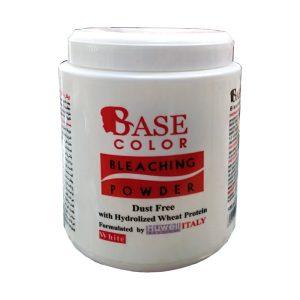پودر دکلره بیس کالر 500 گرمی سفید Base color