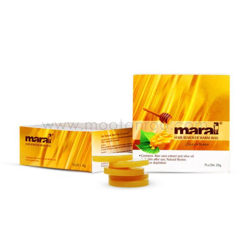 موم وکس سکه ای مارال عصاره عسل 500 گرمی MARAL