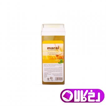 موم وکس خشابی مارال عسلی 100 گرمی MARAL