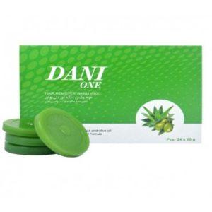 وکس سکه ای دنی وان عصاره آلوورا و زیتون 24 عددی Danione hair warm wax