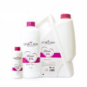اکسیدان 4 لیتری استار لیدی 6% نمره(1) starlady