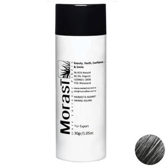 پودر پرپشت کننده مو مورست خاکستری Morast Gray 30G