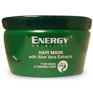 ماسک مو انرژی با آبکشی عصاره آلوورا 500 میل