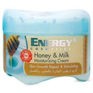 کرم مرطوب کننده انرژی عصاره شیر و عسل 300 میل