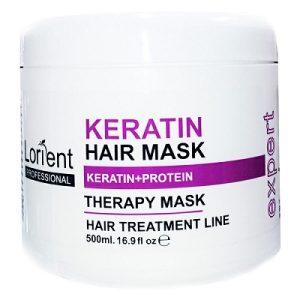 ماسک مو لورینت کراتینه کاسه ای 500 میل Lorient Hair Mask Keratin