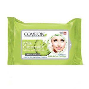 comeon milk cleanser pad
