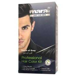 کیت رنگ مو مردانه مارال جو گندمی Maral Toueh Of Gray Hair Color Kit