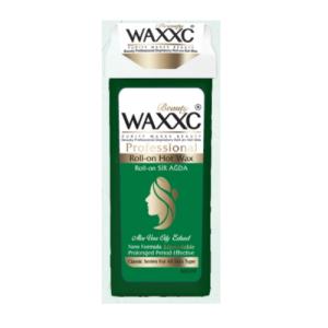 موم خشابی وکسی عصاره آلوئه ورا حجم 100 گرم Waxxc Roll-on Hot Wax