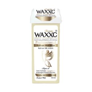 موم خشابی وکسی سفید صدفی حجم 100 گرم Waxxc Roll-on Hot Wax