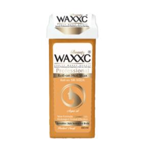 موم خشابی وکسی نسکافه ای صدفی حجم 100 گرم Waxxc Roll-on Hot Wax