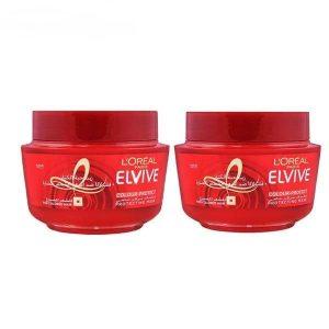 ماسک مو لورآل سری Elvive مخصوص موهای رنگ شده 300 میل Loreal Elvive Color Protect