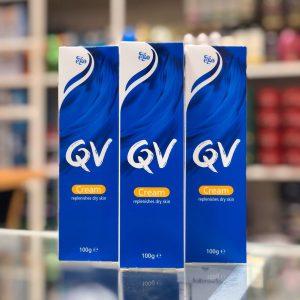 کرم مرطوب کننده کیووی حجم 100 گرم Qv Cream 100gr