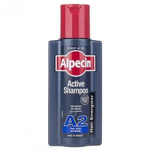 شامپو آلپسین A2 Active حجم 250میلی