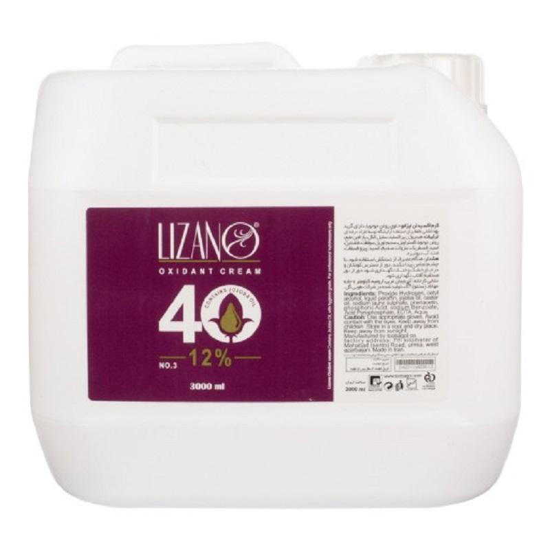 اکسیدان لیزانو 12% نمره3 حجم 3لیتری Lizano