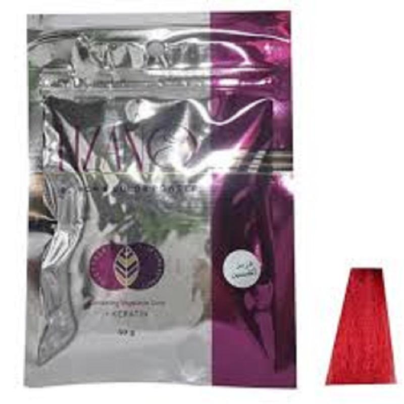 پودر دکلره رنگی لیزانو قرمز آتشین حجم 50 گرمیLizano