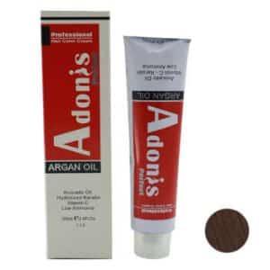 رنگ مو آدونیس سری Natural شماره N6-7.0 حجم 125 میلی لیتر رنگ بلوند متوسط